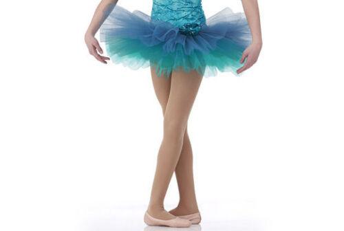 Blue ROMANTIC and SHORT BALLET TUTU Skirt ONLY Dance Child Adult Sizes