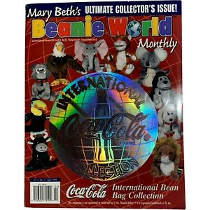 TY BEANIE BABY Babies - Mary Beth's Bean Bag World Magazine Vol. 2, No. 7
