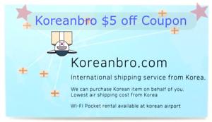 Korean-EMS-Korea-Post-Discount-Coupon-5-Voucher-for-Koreanbro-Online-shopping