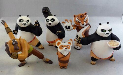 Comansi Jeu // Collection Figurines Y99910-1 Kung Fu Panda 6 Figurines Set