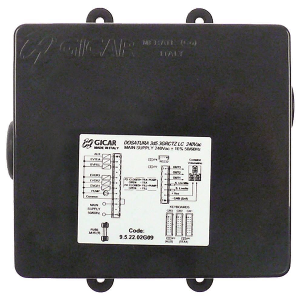Elektronikbox 3d5 3GRCTZ LC para Cafetera 240V 50 60Hz 3-gruppig