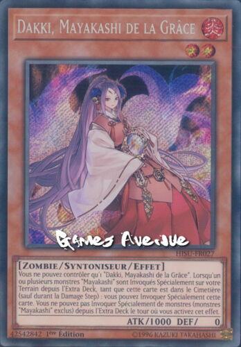 Mayakashi de la Grace HISU-FR027 HISU-EN027 Dakki Yu-Gi-Oh VF//SECRET