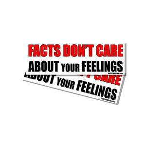 Facts-Dont-Care-about-Your-Feelings-Snowflake-Funny-Sticker-Decal-2-Pack