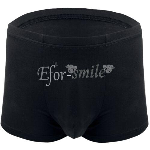 Plus Size Men/'s Stretchy Bamboo Fiber Underwear Boxer Bikini Briefs Shorts Trunk