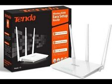 Tenda F3 300 Mbps Wireless Router with 3 fixed antenna, 3LAN, 1WAN Port