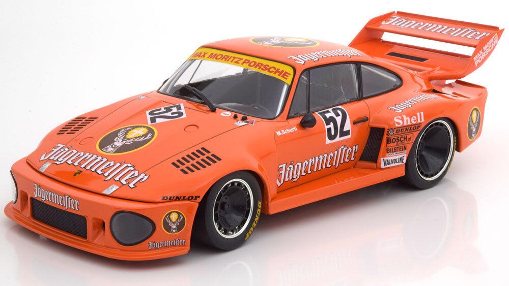 NOREV PORSCHE 935 Jagermeister DRM Zolder 1977 Schurti  52 1 18 échelle LE1000 NEUF