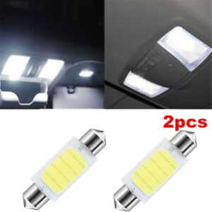 Blanco-Lampara-de-interior-del-coche-La-luz-del-LED-Bombilla-Festoon-Dome-41mm