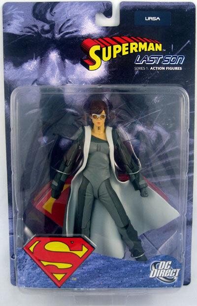 Superman Last Son Zod + Ursa Figures - DC Direct Metropolis Krypton Clark Kent