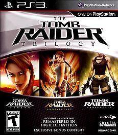 Tomb Raider Trilogy Sony PlayStation 3, 2011  - $27.99