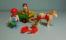 Playmobil Bauernhof / Farm ~ Ponywagen / Pony Wagon (3713)
