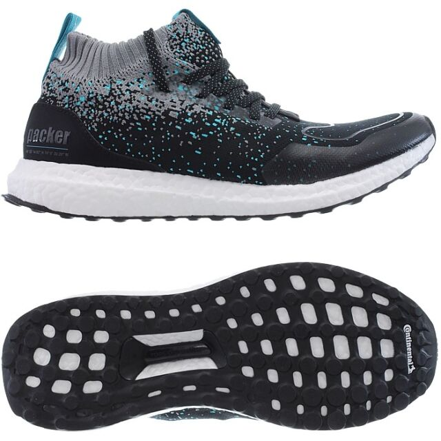 best loved 33bd9 9fe2c Adidas Consortium Solebox x Packer Ultra Boost Mid S.E. black Mens  Sneakers NEW