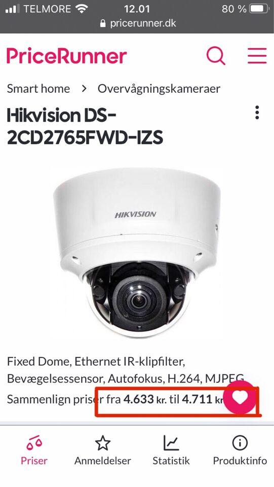 Overvågningskamera, Hikvision