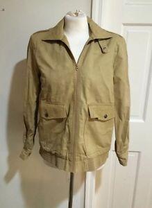 ON SALE Vintage 60s Mister 365 Green Herrington Jacket/Coat 36 S 36hoVu