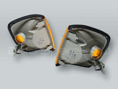 Amber Corner Lights Parking Lamps PAIR fits 1988-1995 MB E-Class ...