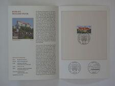 (06j31) Bund Erinnerungsblatt 2006 mit ESST Mi.Nr. 2548 Burghausen