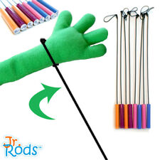 Jr. Rods? Puppet Arm Rods Pair - Choose your color! Professional Puppet ministry