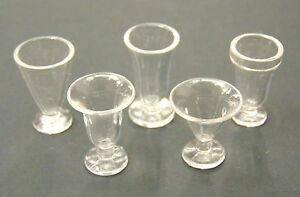 1-12-Echelle-2-Plastique-Creme-Glacee-Nourriture-Verres-Tumdee-Maison-Miniature