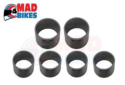 YAMAHA XJ900F EXHAUST COLLECTOR BOX GASKET SEAL RINGS SET OF 6