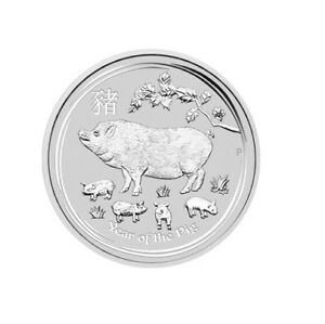 2019-Australia-Lunar-YEAR-OF-THE-PIG-1oz-Silver-BU-Coin-SOLD-OUT-at-Perth-Mint