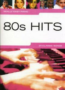 80s-Hits-Really-Easy-Piano-by-NEW-Book-FREE-amp-Fast-Delivery-Paperback