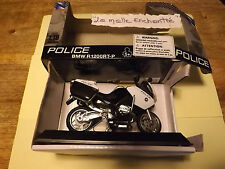 MOTO MINIATURE BMW  R 1200 RT POLICE USA 1/18  NEUVE EN BOITE NEW RAY