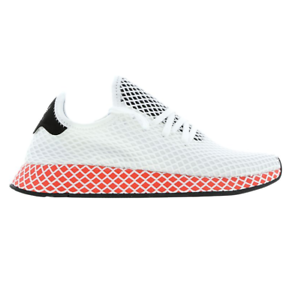 3b278b23abe6b Image is loading Mens-ADIDAS-DEERUPT-RUNNER-White-Trainers-BB7150