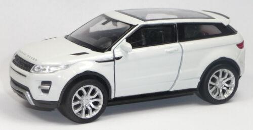 Nuevo Range Rover Evoque blanco panorama techo modelo de coleccionista aprox 11cm artículo nuevo Welly