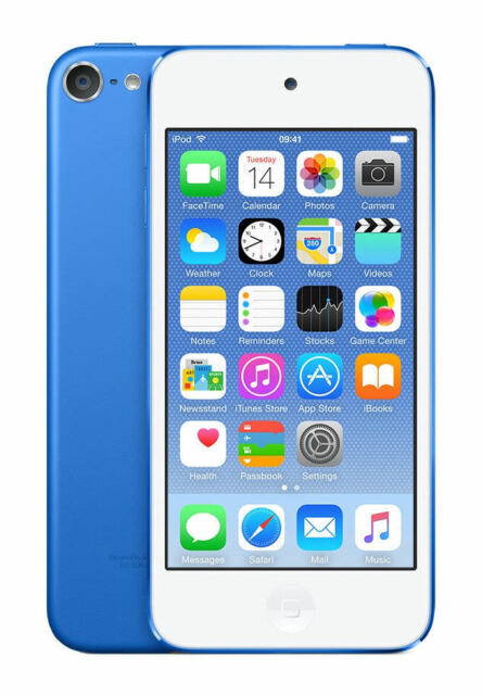 Apple Ipod Touch 6th Generation Blue 128 Gb For Sale Online Ebay