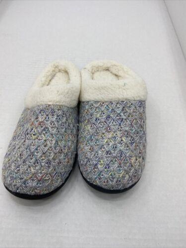 Details about  /Wishcotton Women/'s Cozy Memory Foam Slippers Fuzzy Wool-Like Plush Fleece Lined