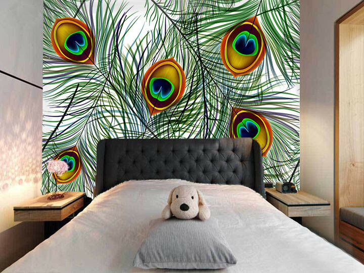 3D Feather 4056 Wallpaper Murals Wall Print Wall Mural AJ WALLPAPER UK Carly