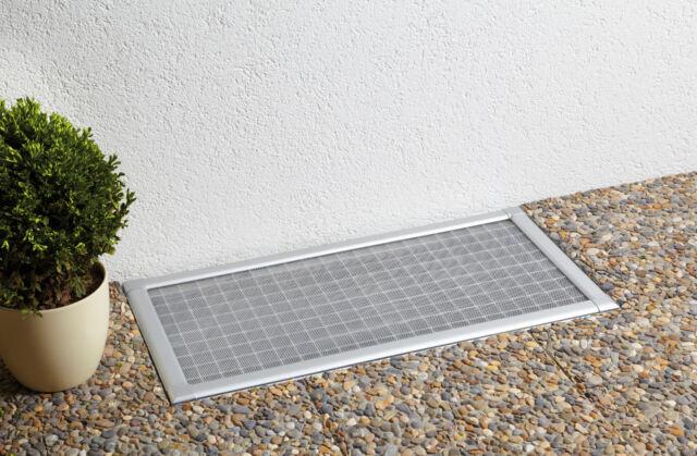 3 X Kellerschacht Lichtschacht Abdeckung Alu Bausatz Gitterrost