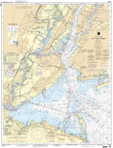 NOAA Chart New York Harbor 106th Edition 12327