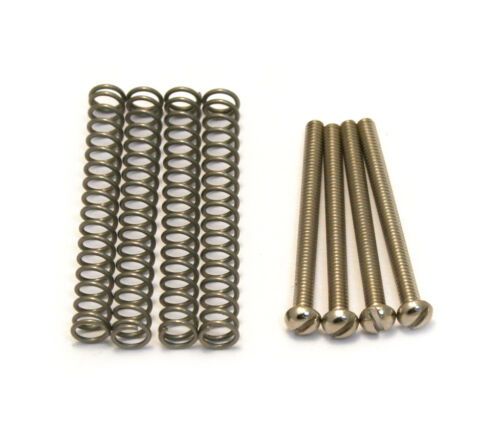 4 Slotted Mounting Screws//Springs USA//Gibson® Humbucker Pickups GS-3012-001
