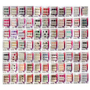 SASSY-CHIC-1-12pc-Fashion-Nails-FUN-EASY-Glue-On-YOU-CHOOSE-Various-Short-1c