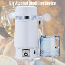 1Gal 4L Alcohol Distiller Moonshine Ethanol Copper Still Stainless Boiler New