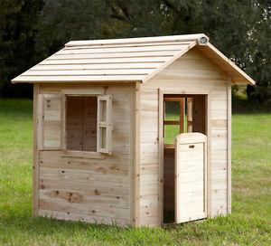 Casetta legno giardino bambini casa gioco 130 cm altezza for Casa legno bambini