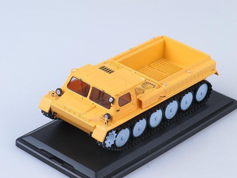 los últimos modelos Soviet All All All Terrain Vehicle gaz-71 open naranja ssm3002 1 43 New in a box   centro comercial de moda