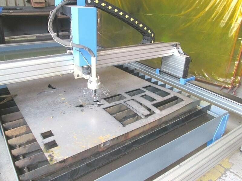 P-1325TA MetalWise Standard CNC Plasma Cutting Table 1300x2500mm, Stepper Motors, Arc