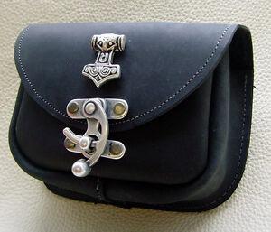ᄄᄂ en main ᄄᄂ Sac Nouveau noir ᄄᄂ vache cuir Nouveau en peau bandouliᄄᄄre Sac Hammer main de Thors Sac FK1J35uTlc