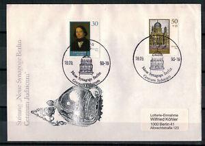 DDR-FDC-Neue-Synagoge-Berlin-MiNr-3358-3359-ESSt-Berlin-18-09-1990