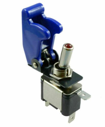 Kippschalter 12V//20A SPST beleuchtet LED Rot Grün Blau Weiß 1-polig KFZ Switch