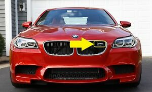 BMW-NEW-GENUINE-5-SERIES-M5-F10-FRONT-KIDNEY-GRILLE-LABEL-STICKER-BADGE-EMBLEM