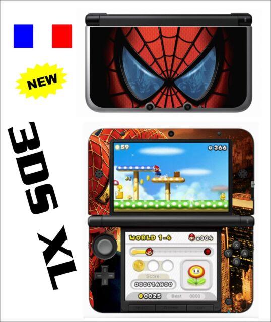 SKIN STICKER AUTOCOLLANT DECO POUR NINTENDO 3DS XL   3DSXL REF 43 SPIDER