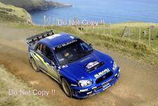 Petter Solberg Subaru Impreza WRC2008 New Zealand Rally 2008 Photograph
