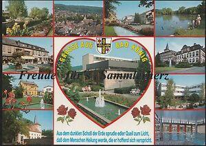 187 O AK Ansichtskarte Bad König im Odenwald 11 Motive Hessen - Franken, Deutschland - 187 O AK Ansichtskarte Bad König im Odenwald 11 Motive Hessen - Franken, Deutschland