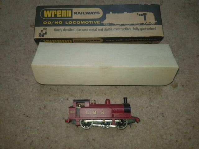 OO Gauge WRENN W2204 LMS 0-6-0T TANK LOCOMOTIVE boxed no instructions