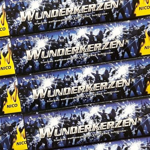 1 von 1 - 50x Wunderkerzen NICO 18cm Geburtstag Hochzeit Konzert Party Event Sparklers