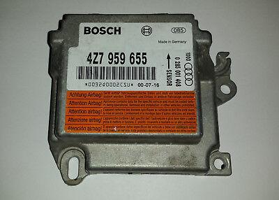 Audi A6 4B Airbag Steuergerät 4B0959655G Bosch 0285001274 12 Monate Garantie