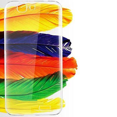 COVER Custodia Morbida TRASPARENTE TPU GEL Silicone Gomma per Huawei Ascend G7