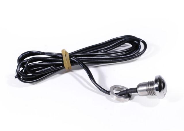 Lenker Einbau Mini Schalter Drucktaster Druckschalter Edelstahl für Honda bike